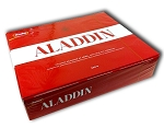 Aladdin original milk/dark chocolate box 500g
