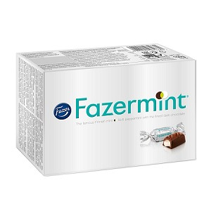 Fazermint Chocolate Creams box