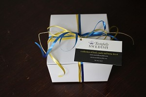 Gift box for bulk candy - contents 1 lb. of bulk candy of your choice.